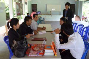 บริการวิชาการ ณ ศาลาประชุมหมู่บ้านควนยูง