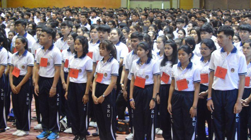 โครงการพัฒนาศักยภาพนักศึกษาใหม่2560